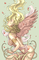 Of Angels--Color by Jeanniebear