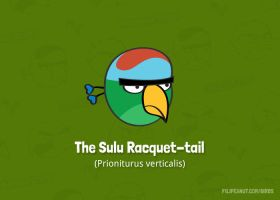 The Sulu Racquet-tail by Filipeanuts