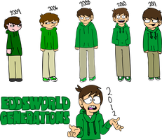 Eddsworld Generations - Edd Gould by Swferino