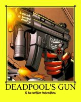 Deadpool's Gun by TorkBacklash