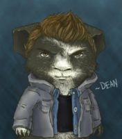 Dean the Guinea Pig by Tri-Jean