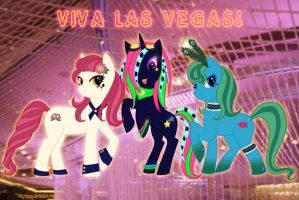 Vegas Ponies on the Town by IchigoBunny