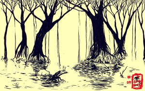 Swamp by demitasse-lover