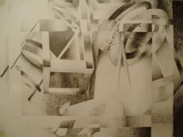 Frames abstract in pencil by Elmarievdc