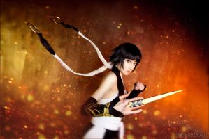 Bleach, Soi Fong cosplay by DamienaEishexe