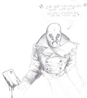 Rorschach -sketch- by StarWarsGURU