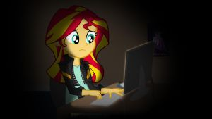 Sunset Shimmer and the Season 5 Finale by ParagonAJ
