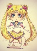 Sailor moon chibi by Franky-Tiem