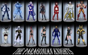 The Paragonian Knights by Juggertha