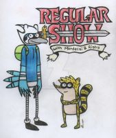 Regular Show/Adventure Time by claudzcharizard