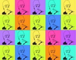 audrey pop art wallpaper by whoslepe