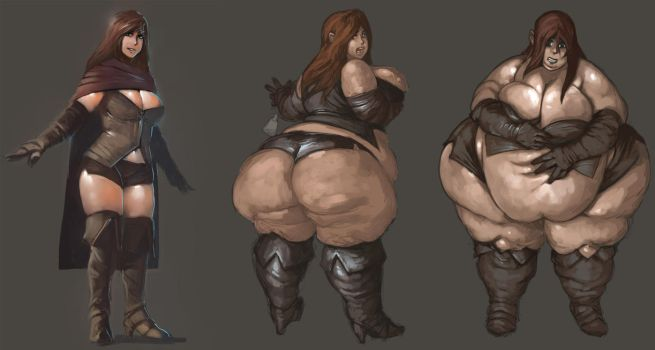 A Fattened Mage WIP1 by the-murdellicious