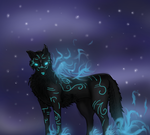 (request) Ciannara the wolf goddess by The-nordic-fangirl