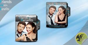 Friends With Benefits Folder Icons by yoyokimo