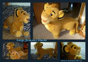 Large Jemini Simba by DoloAndElectrik