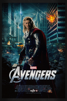 The Avengers: Thor | Theatrical Poster by Squiddytron