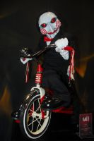 Jigsaw puppet by Leshii203