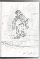 Character Sketch from recent Sketchbook by Stnk13