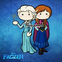 Frozen by NickyToons