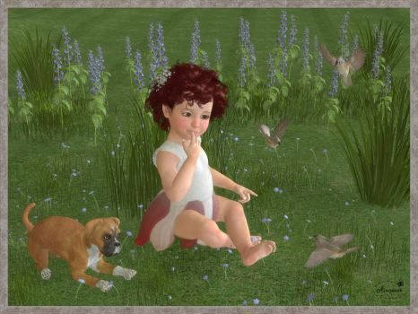 Forest baby by mininessie66