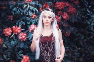 Photo Edit - Red Princess by EpicRed