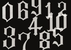 Espada Numbers Brushes by RenjiAbaraiGR