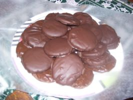 Thin (Thick) Mint Cookies by Hannah2070