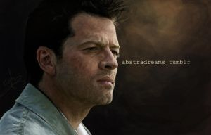 Castiel III by abstradreams