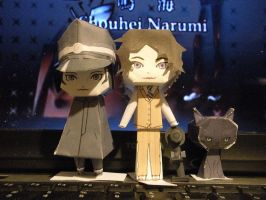 Narumi paper dolls. by PikeInverse