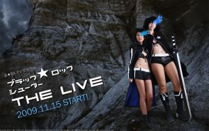BLACKROCKSHOOTER Live Start by sakusakus