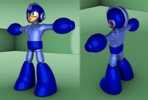 Mega Man WIP by Dionicio
