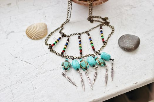 Tribal necklace 1 by AboveArtistLounge