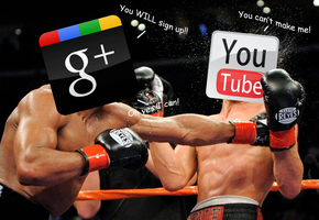 Google+ Vs. Youtube by JDRIZZLE
