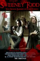 Sweeney Todd Poster Contest 1 by IvyNightwind