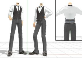 Fancy Male Outfit Download by RandomDraggon