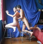 Male nude stock gay couple by TheMaleNudeStock