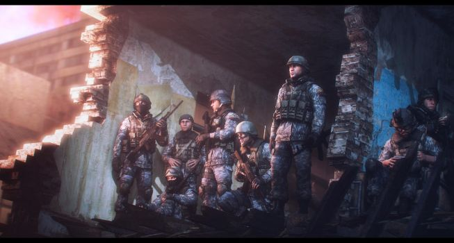Band of brothers by Slim-Charles