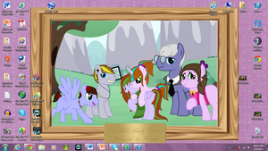 My NEW Desk Top Background by DOC-Ash1391