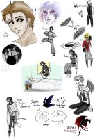 Sketch Dump I by Conspiracy-Z-Cycle