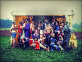 Tekken Cosplay - Best VideoGame Group Lucca 2012 by LeonChiroCosplayArt