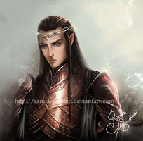 Lord of Rivendell by SamiaEscorcio