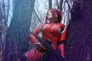 Code Geass. Kallen Kozuki. Waiting the fight by SarinaAmazon