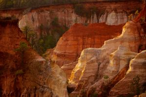 Providence Canyon From Above by gardawamtu