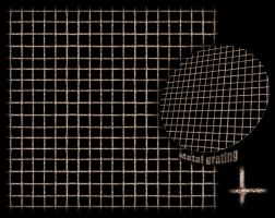 Metal grating texture -tiled by JayL-stock