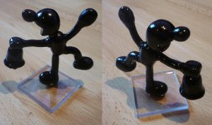 Mr Game And Watch Figurine by Jelle-C