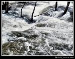 My river went drunk... by Michel-Lag-Chavarria