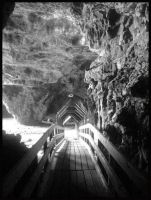 Smoo Cave by DaisyBisley
