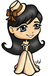 First Chibi-ish Character Ever by sapphirekiss86