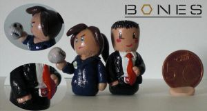 Bones: Brennan and Booth by Ingalain