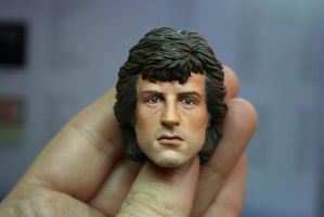 repainted Hot Toys Rambo - 2 by DarrenCarnall